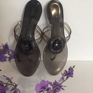 STYLE & CO. rubber slippers 10""